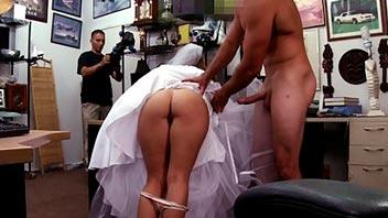 Follando con un desconocido antes de la boda